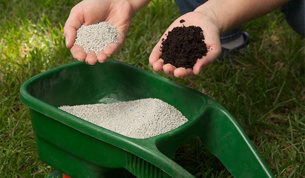 lawn fertilization and topsoil